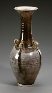 Chattered Vase